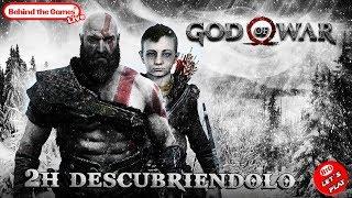 🔴 GOD OF WAR | ¡¡2h DESCUBRIENDOLO en PS4 PRO!!