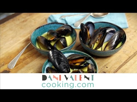 DANI VALENT COOKING: Vadouvan Mussels teaser - Thermomix recipe and video demo