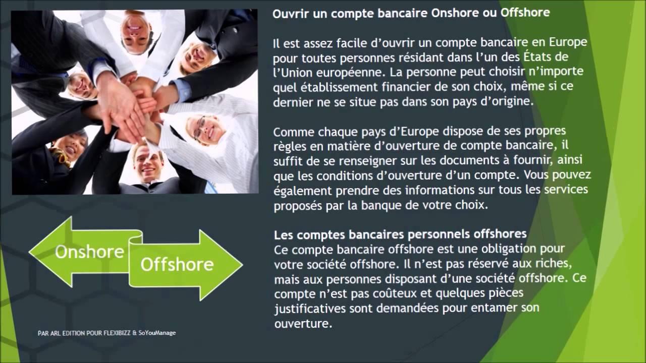 Ouvrir Un Compte Bancaire Suisse Priv En Offshore