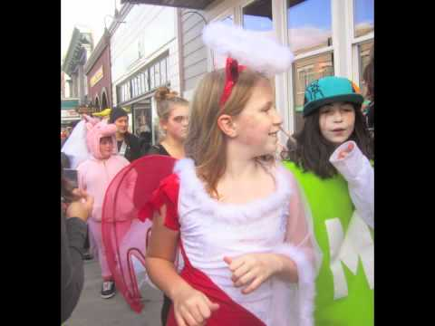 Friday Harbor Elementary School Costume Parade -Halloween 2011
