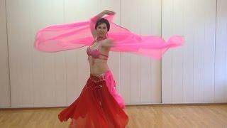 Восточный танец с платком | Belly dance | арабские танцы #танцы(Красивый и нежный восточный танец с платком. #Танцы живота Танец с тростью https://www.youtube.com/watch?v=FKb_wbGLQDo Красивый..., 2015-05-23T11:13:06.000Z)