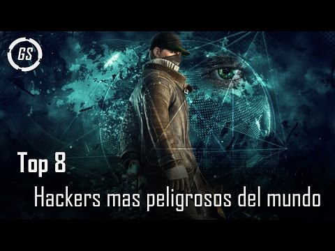 Top 8 Hackers mas peligrosos del mundo