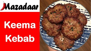HOW TO MAKE BURGERS | KEEMA KEBABS | EASY KEBAB RECIPE
