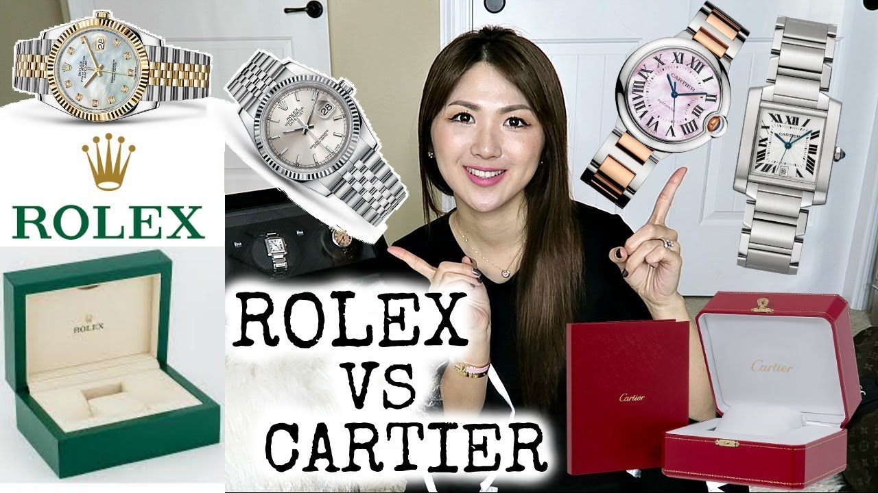ComparisonCharis Lvlovercc Bleu Rolex De} Or Cartier{datejustTankBallon Watch cLq34jA5SR