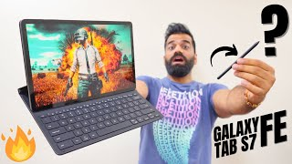 This Samsung Tablet Is Amazing!!! Galaxy Tab S7 FE Unboxing & First Look🔥🔥🔥