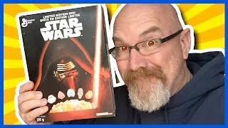 Star Wars Cereal Review #StarWars