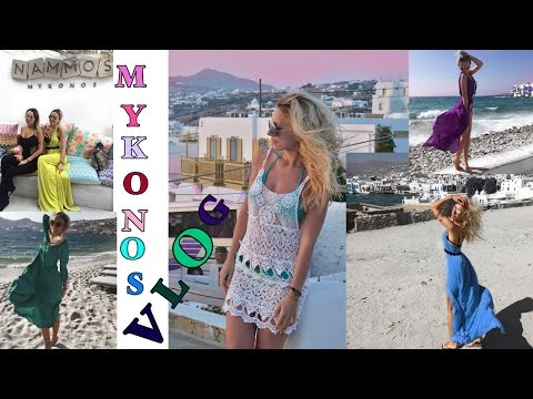 Mykonos - Greece Travel Vlog Summer 2016