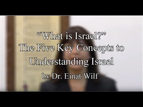 The Five Key Concepts to Understanding Israel