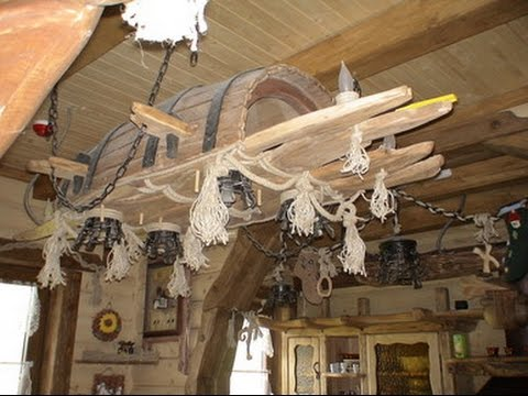 Внутрішній декор дерев'яних