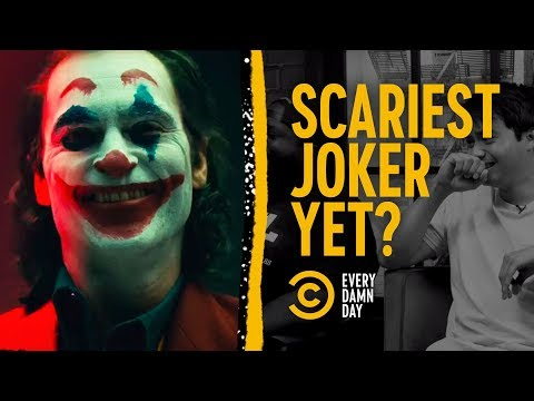 Joaquin Phoenix's Joker: Somehow Scary Already