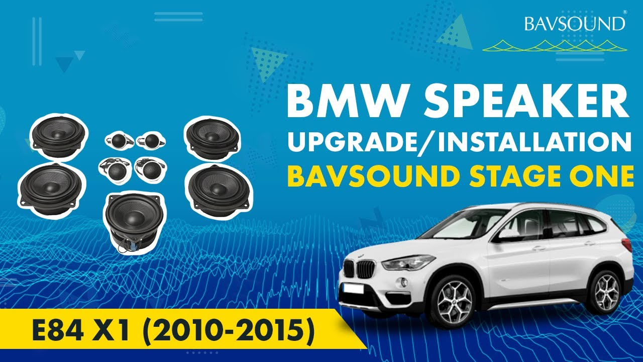 Bavsound Bmw E84 X1 2010 2015 Stage One Speaker