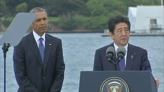 Japanese PM honors lives lost in Pearl Harbor attack