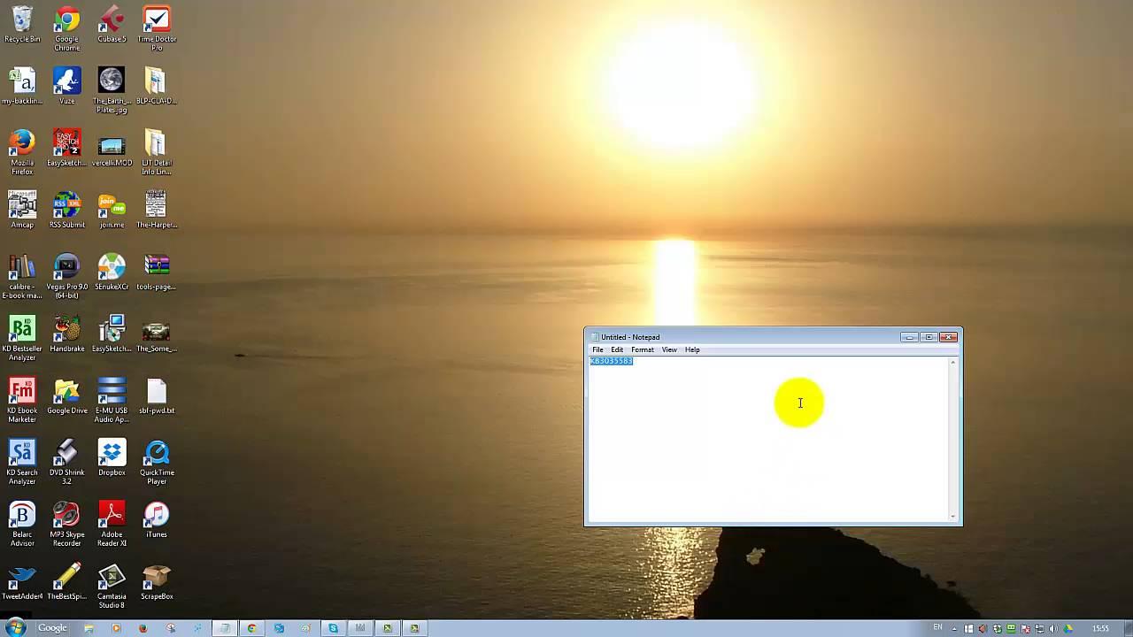 how do i stop windows 10 update notifications