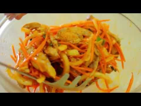 Салат Цезарь с курицей кулинарный рецепт