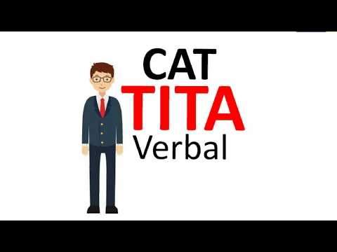 CAT 2017 Verbal TITA Questions strategy and must do questions