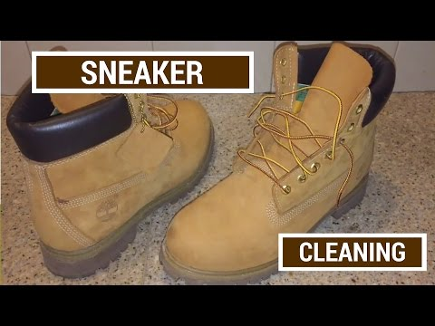 """Sneaker Cleaning for Timberland Boots + How to Clean Dirt and Stains Off Your Tims """"Easy Method"""""""