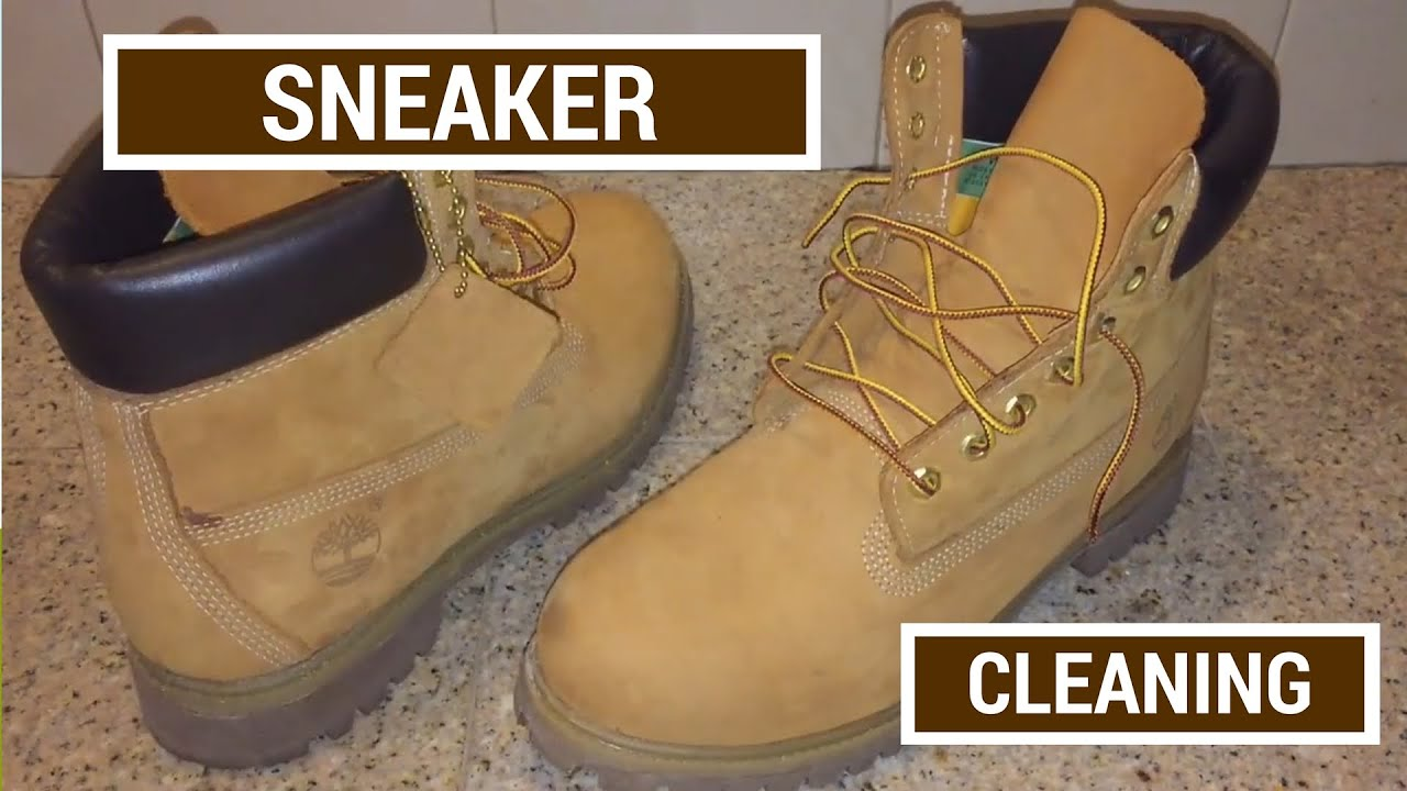 0944b28ee787 Sneaker Cleaning for Timberland Boots + How to Clean Dirt and Stains Off  Your Tims