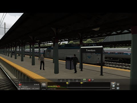 TS 2017: North-East Corridor: 10:51 AM Train to Trenton, NJ (W/Commentary