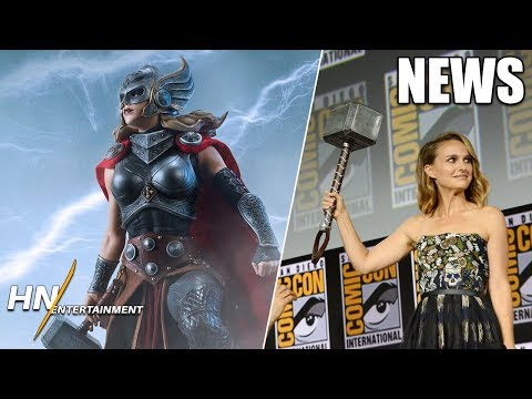 Kevin Feige Shares How Natalie Portman Returned & She'll Get JACKED | Thor: Love and Thunder