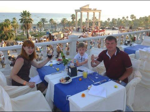 Отдыхаем в Cesars Resort Hotel, Side, Turkey 2014