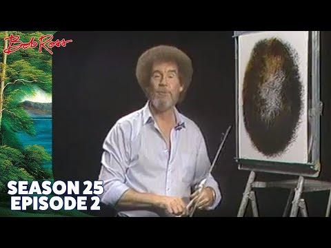 Bob Ross - Enchanted Falls Oval (Season 25 Episode 2)