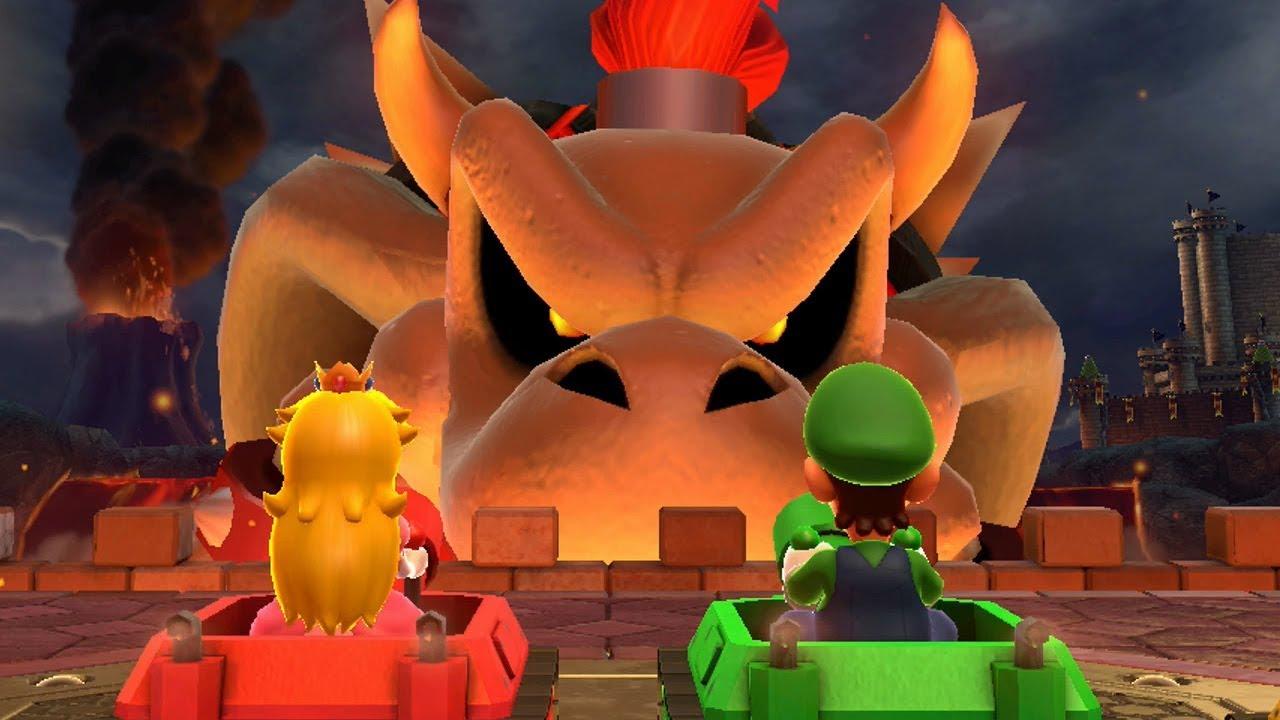 Mario Party 10 Bowser Party Chaos Castle Youtube