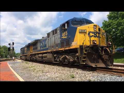 Pre Internship Railfanning at Point Of Rocks, MD