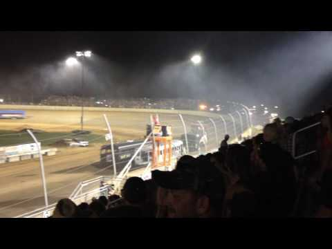 School Bus Race at Lawrenceburg Speedway