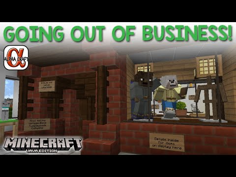 Going Out Of Business!  Alphacraft Season 2 Minecraft Java Edition
