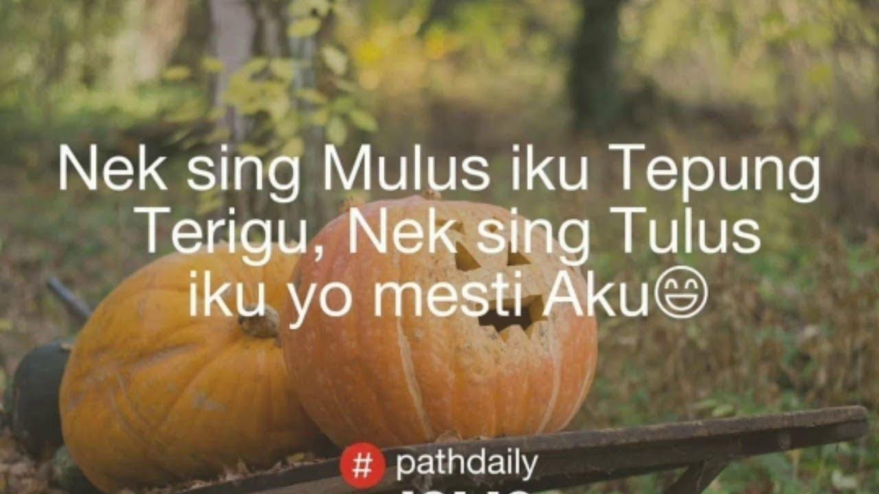 320 Quote Pathdaily Jawa Baper Instagram Galau Bijak