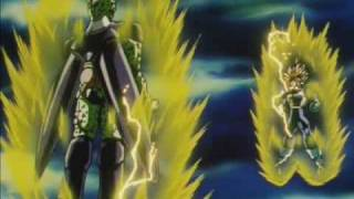 trunks vs perfect cell original japanese