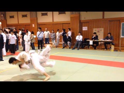 Judo Tournament Budokan Dojo in Japan (3 fights in a row)