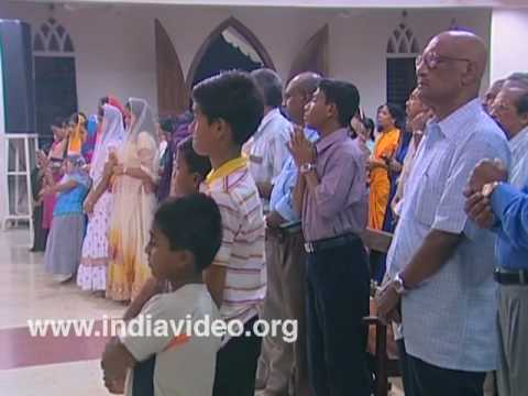 Christmas service, Lourdes Forane Church, Thiruvananthapuram