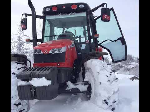 MF 5430`la kar eğlencesi