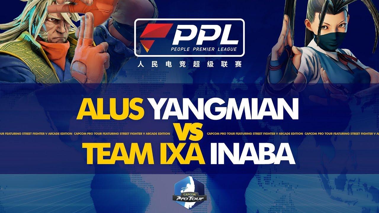 ALUS Yangmian (Zeku) vs TEAM IXA Inaba (Ibuki/Urien) - PPL Fighters Masters  2019 Day 1 - CPT 2019