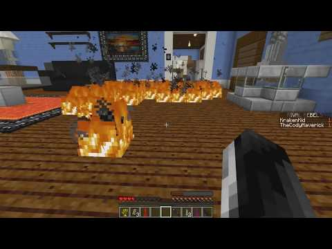 Minecraft | WHO'S YOUR DADDY? Fire + Baby Poop = FLAMING POOP (Baby Eats Fire Poop)