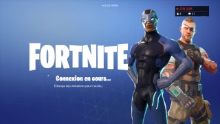 small live Fortnite Battle Royal On wait mode playing field