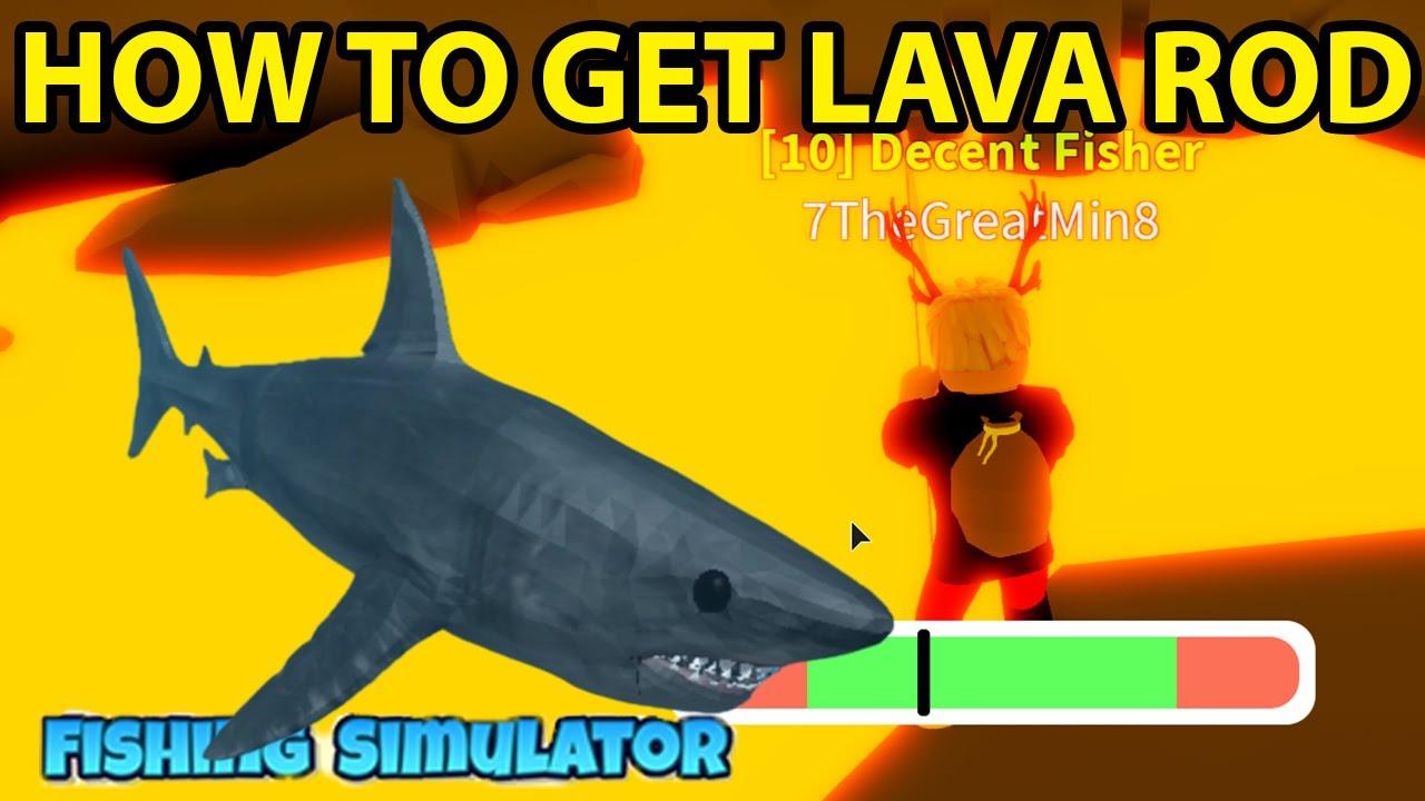 Roblox Fishing Simulator How To Get Volcano Obby Shark Aquarium