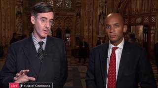Jacob Rees-Mogg SLAYS Lefty Snowflakes Compilation (November 2017)