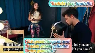 Soy Luna Sezon 2 Bölüm 73 - Matteo çıldırmış ve Luna onu sakinleştirmeye çalışıyor (Türkçe altyazıl)