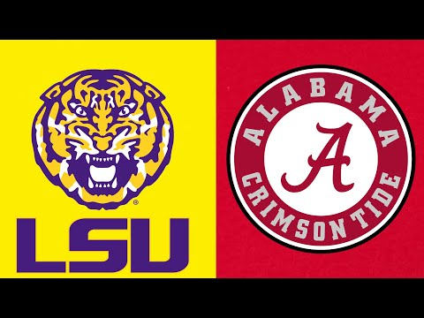 Alabama vs LSU || Game of the Century Highlights || 2019