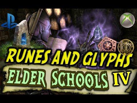 Elder Scrolls Online Runes/Glyphs Tutorial (Elder Schools #4) PS4/Xbox