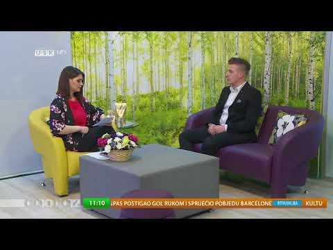 AHMEDIN SEFEROVIĆ- PREDSJEDNIK UNIJE STUDENATA IPF U BIH I SANDŽAKU