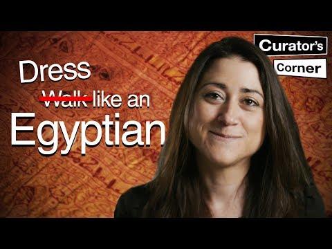 Ancient Egyptian Fashion I Curator's Corner Season 5 Episode 3