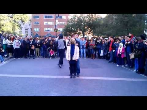 Funny street performer with amazing skills in Union Square, New York City – Part 1