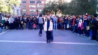 Funny street performer with amazing skills in Union Square, New York City - Part 1