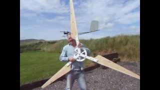 wind turbine build pt4