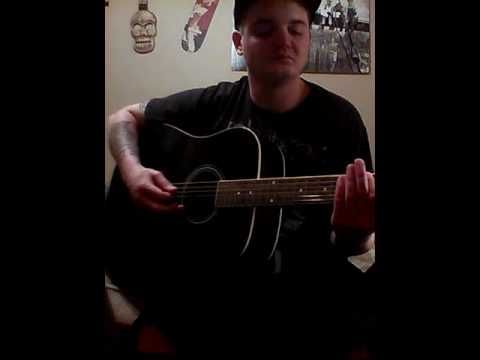 Nirvana-something in the way (acoustic cover)
