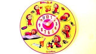 Masha and The Bear Puzzle Clock
