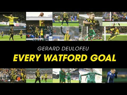 EVERY GERARD DEULOFEU GOAL FOR WATFORD SO FAR 🔥